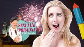 Silvestrovská sexuální poradna: Strčili mi do vaginy raketu na ohňostroj
