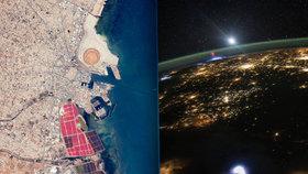 Krásy a útrapy na planetě Zemi. 10 pohlednic z centrály kosmonautů
