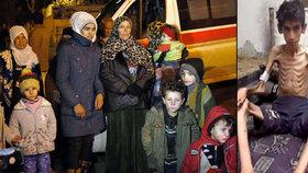 Česko pomůže s hladovými dětmi v Sýrii. Má rozdělovat pomoc za celou EU