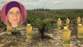 Jana nakupuje výrobky bez palmového oleje. Dražší to není, v obchodě je déle