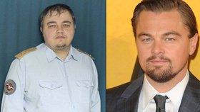 Rozdíl jen pár kilo: DiCaprio má dvojníka u ruské policie