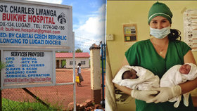 Češka odjela do země malárie a HIV. Místo Plzně pomáhá rodit děti v Ugandě