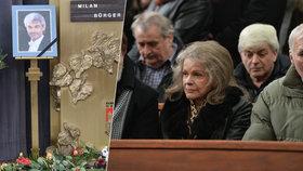 Pohřeb pěveckého partnera Pilarové: Zpěvačka Milana Bürgera (†52) obrečela