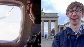 Britský školák chtěl ušetřit za lístek do Londýna: Letěl domů přes Berlín o 250 Kč levněji!