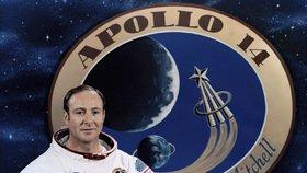 Zemřel astronaut Mitchell (†85), šestý člověk na Měsíci