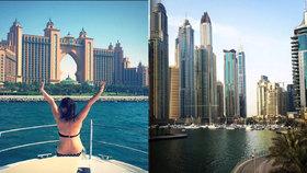 Češka o Dubaji: Rezervace stolu až za půl milionu. Poznala i syna šejka