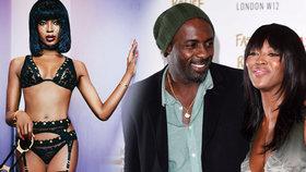 Nenasytná modelka Naomi Campbell (45): Odloudila od rodiny herce Idrise Elbu