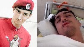 Youtubera Rotu čeká amputace nohy: Hrozí mu otrava krve