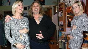 Manželka Pepy Vojtka je těhotná: Na miminko jsme čekali rok a půl!