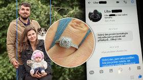 Neuvěřitelná cesta ztraceného zásnubního prstýnku zpátky k majitelce. Hledalo ho 1860 lidí!