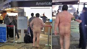Chtěl cestovat na lehko? Muž přišel na letiště úplně nahý!