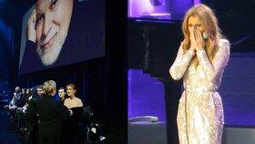 Céline Dion se vrátila na jeviště: Na emotivním koncertě oplakala zesnulého manžela