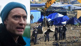 Jude Law okraden uprchlíky! Herec je přišel podpořit do Calais, takto se mu odvděčili