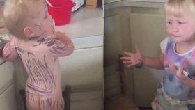 Holčička počmárala zuřivě sestřičku: Mami, tohle je zebra!