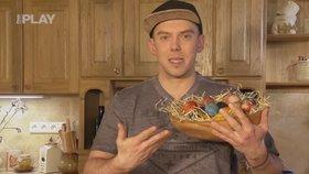 Vychytávky Ládi Hrušky: Velikonoční vajíčka obarvíte řepou, kurkumou nebo zelím