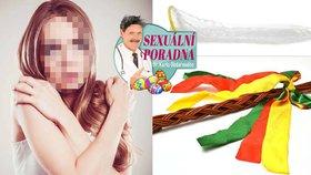 Velikonoční sexuální poradna: Měla jsem orgasmus s pomlázkou