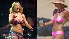 Konečně má postavu snů: Britney Spears se zbavila špeků a ukázala břišní pekáč!