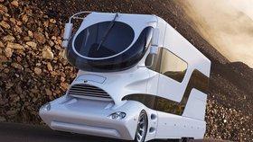 Pojízdný palác na čtyřech kolech: Tohle je nejdražší karavan světa! Stojí jako vila