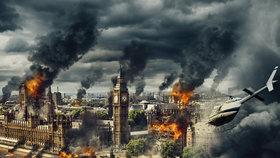 Češi odpálili Westminsterský palác. Příprava na filmovou zkázu Londýna trvala půl roku