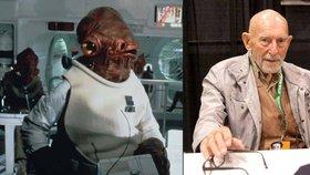 Není to past: Zemřel admirál Ackbar ze Star Wars