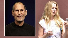 Vdova po Stevu Jobsovi: Vesele rozhazuje miliardové dědictví