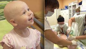 Terezka (5) z Nemocnice Motol: Kvůli leukemii hladověla! Museli ji krmit sondou do žaludku