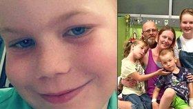 """Chlapci (6) našli smrtící nádor: Matka léčbu odmítla, prý by mu """"usmažila mozek"""""""