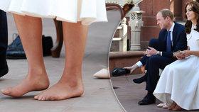 Vévodkyně Kate na návštěvě Asie odhalila víc, než chtěla: Má zničené nohy