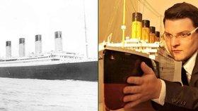 """Český expert na Titanic sní o jeho kopii. A přišel na lži krajanů """"z lodi"""""""