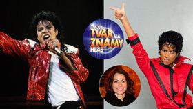 Holišová v show Tvoje tvář má známý hlas oživila Jacksona! Diváci šílí!