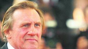 Gérard Depardieu měl na ulici záchvat zuřivosti