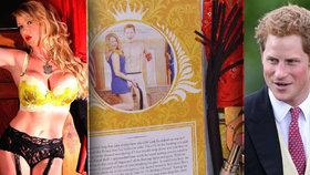 Domina prodává vibrátory s obličejem prince Harryho, prý s ním měla sex
