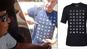 Skvělý vynález pro všechny cestovatele: Tohle tričko řekne vše za vás!