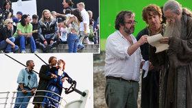 Titanic, Avengers nebo Hobit: Jak se natáčely největší filmové trháky?