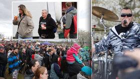 Skandující děti, piva požehnaně: Řipskou pouť zakončil Ortel i přes protesty