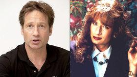 Městečko Twin Peaks opět navštíví transvestita David Duchovny