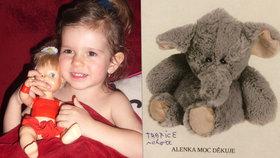 Pátrací akce po sloníkovi: Byl s Alenkou od narození, nechala ho v Holešovicích v supermarketu