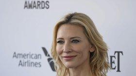 Oscarová herečka se stala velvyslankyní pro uprchlíky: Blanchett má být inspirací pro ostatní