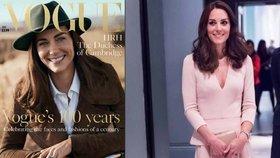 Vévodkyně Kate jako modelka: Obsadila obálku prestižního magazínu