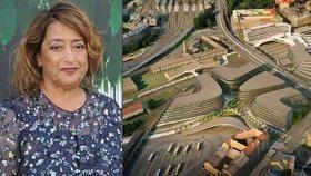 Kontroverzní architektka, která mění tvář Prahy i po smrti: Tímto se proslavila
