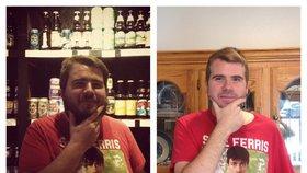 Chlap vydržel 500 dní bez alkoholu: Změnil se k nepoznání