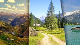Letní Alpy lákají k pěší turistice i cyklistice! Objevte Rakousko z hřebenů hor