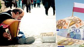 Řecko padá do bídy? Už je chudší než Polsko, tvrdí měnový fond