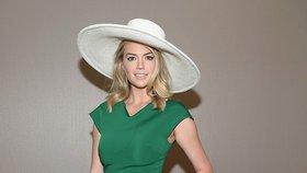 Styl podle celebrit: Odvažte se v zelené jako Kate Upton