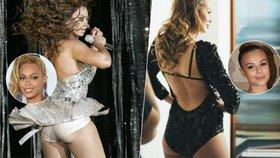 Sexy Monika Bagárová je dvojnicí Beyoncé: Zpěvačky mají téměř stejné zadečky!