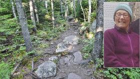 Turistka se ztratila na Apalačské stezce: Před smrtí si psala 26 dní deník