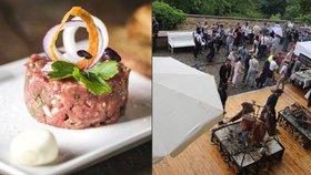 Víkend na Hradě v duchu obžerství: Prague Food Festival slaví 10 let