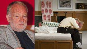 Luděk Sobota podstoupil těžkou operaci: Lékaři mu ve střevě našli nádor!