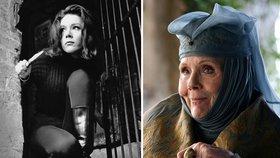 Zemřela Diana Rigg (†82), hvězda Hry o trůny a jediná kráska, se kterou se James Bond oženil