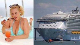Blesk otestoval nejluxusnější a největší loď světa Harmony of the Seas. Bittnerová: Je to plující město!